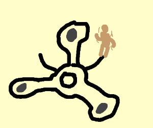300x250 A Fidget Spinner Spinning A Human