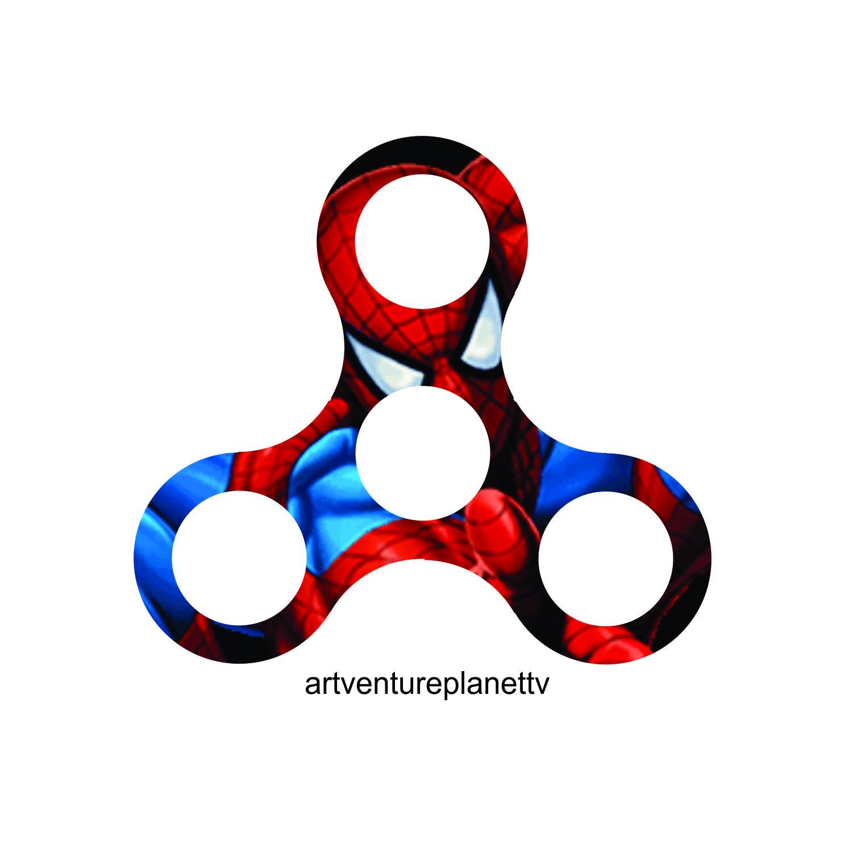 1501x1501 Artventure Planet Homemade Fidget Spinner Printable Drawing