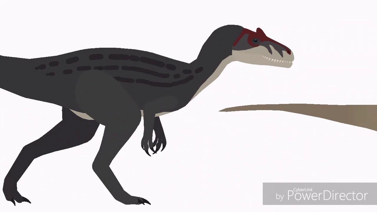 1280x720 jurassic fight club allosaurus