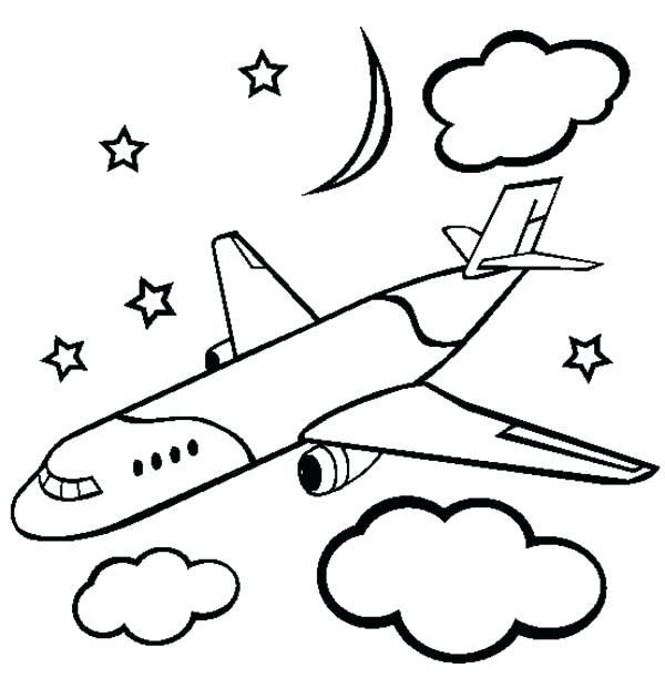 600x612 plane coloring pictures low wing air plane coloring