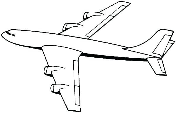 600x386 easy plane drawing image titled draw a plane step easy simple