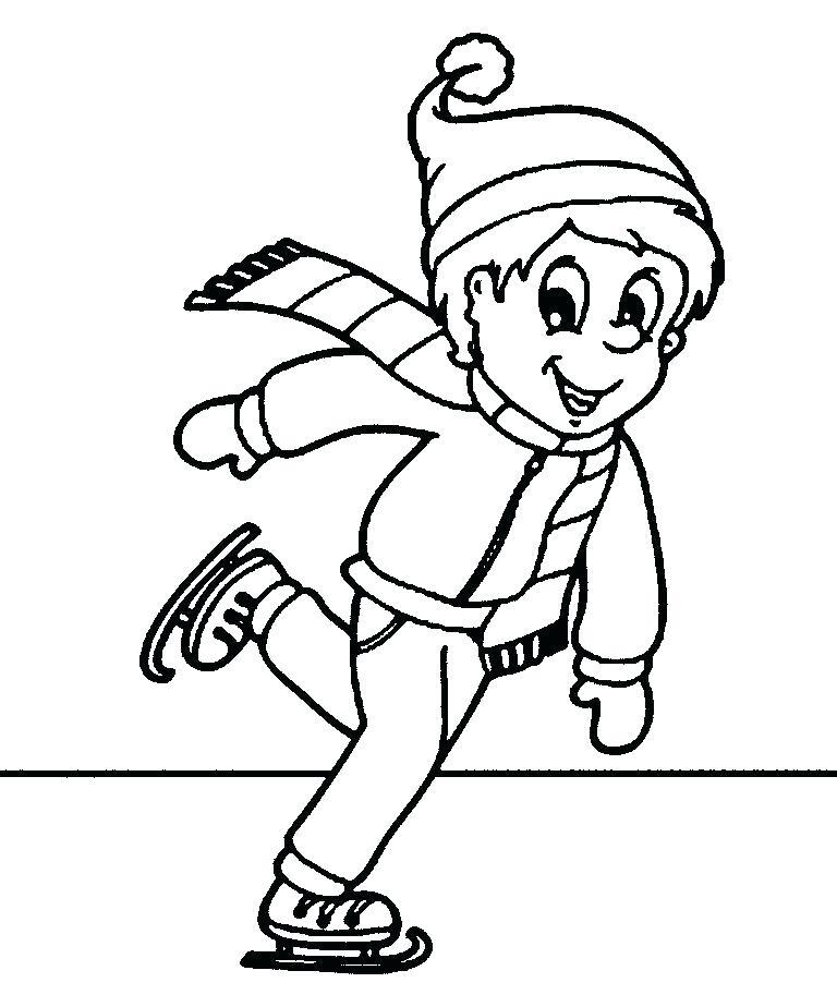Figure Skating Drawing
