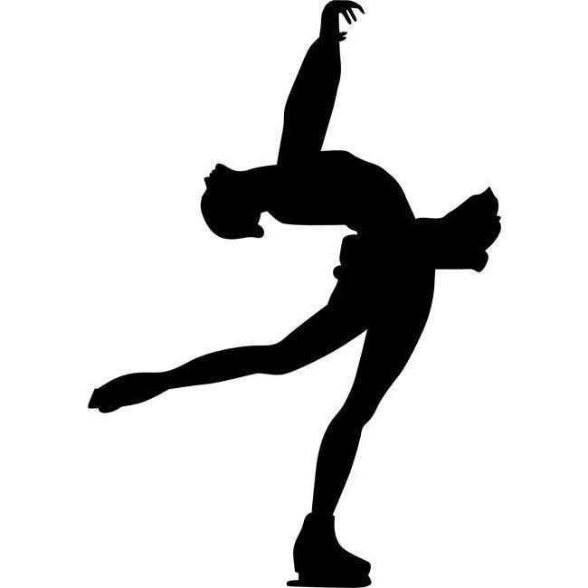 650x650 layback spin figure skating stencil ballerina figure skating