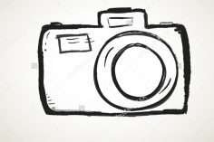 236x157 camera aesthetic drawing polaroid easy film simple colored