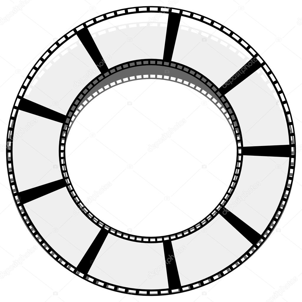 Film Strip Drawing