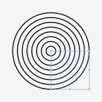 400x400 Draw Fingerprint Icon Using The Polar Grid Tool