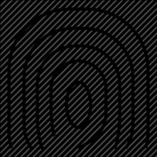 512x512 Fingerprint Identity Transparent Png Clipart Free Download