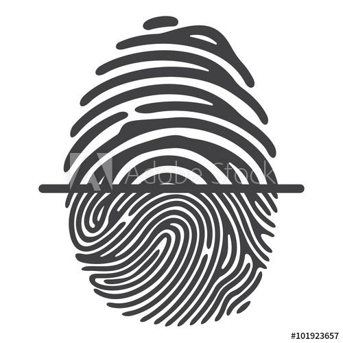 500x500 Black Fingerprint System