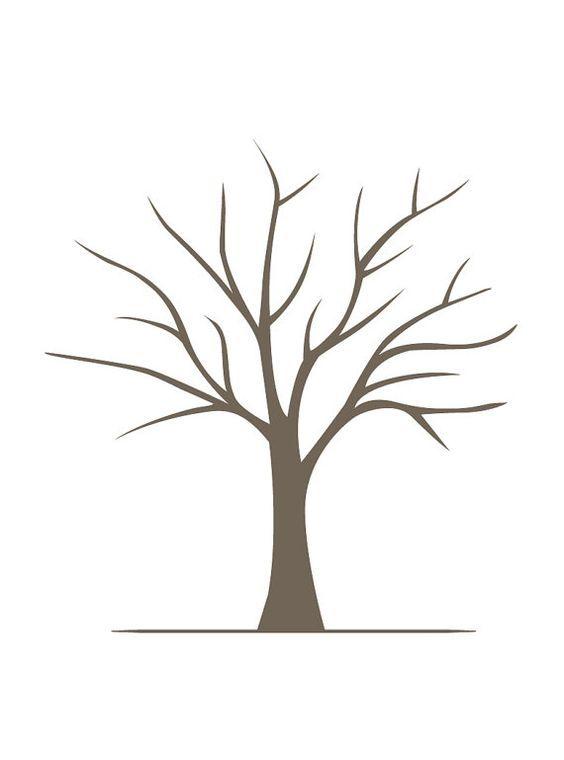 564x760 Diy Fingerprint Tree Poster