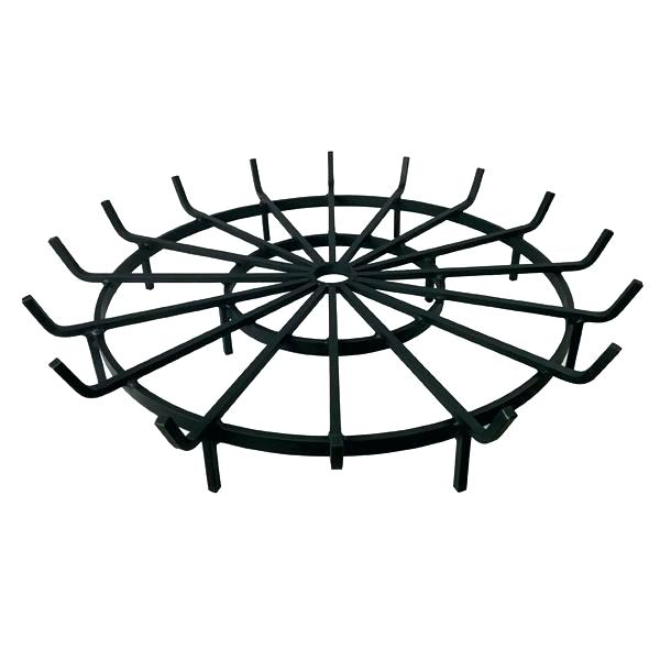 600x600 round fire pit grate wagon wheel grate for outdoor fire pit fire