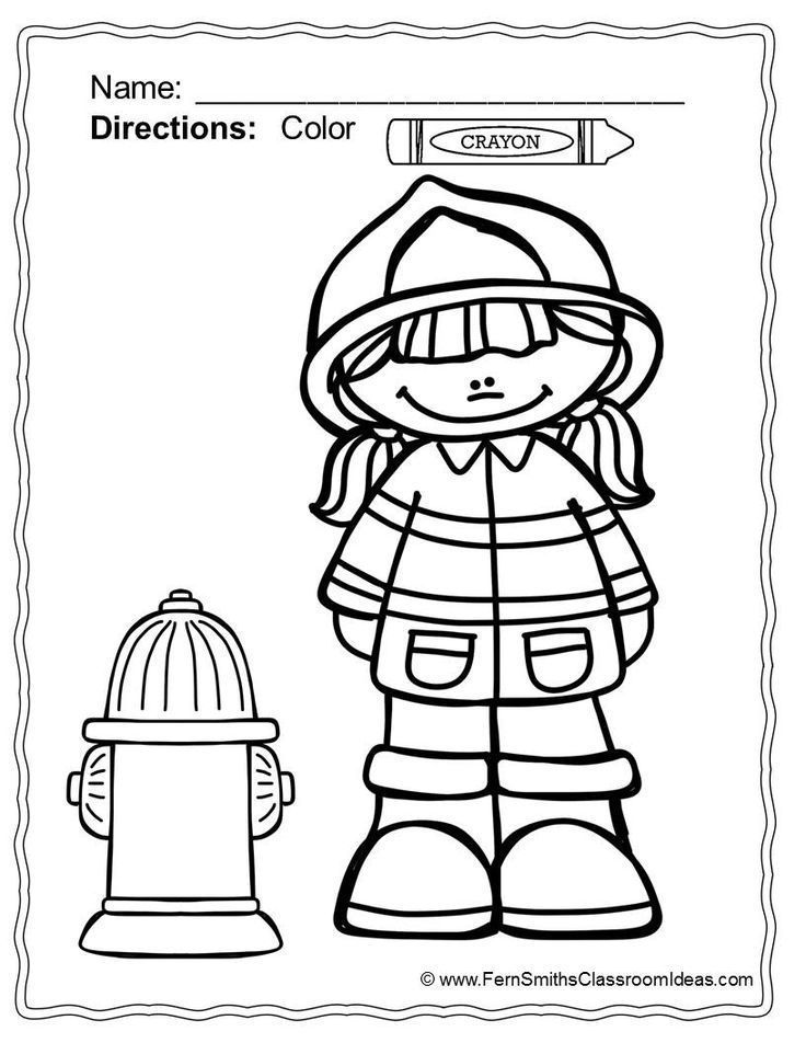 736x952 fire safety coloring pages best of fire safety coloring sheets
