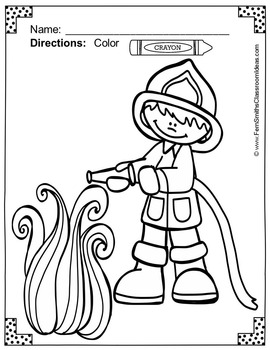 Fire Safety Drawing | Free download on ClipArtMag