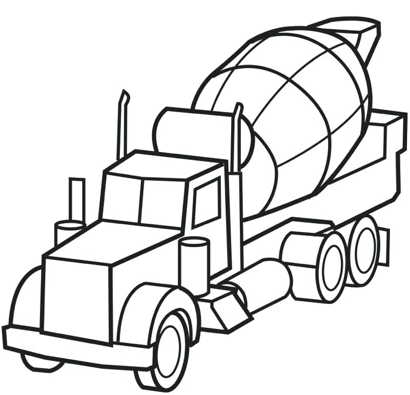 800x771 truck coloring sheets city garbage truck on dump truck coloring