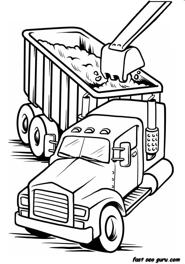 Fire Truck Drawing For Kids | Free download on ClipArtMag