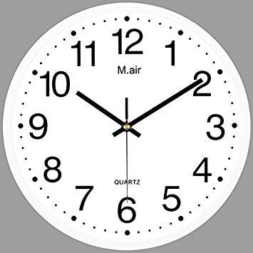 355x355 metal wall clock ultra quiet bedroom living room wall clock clock