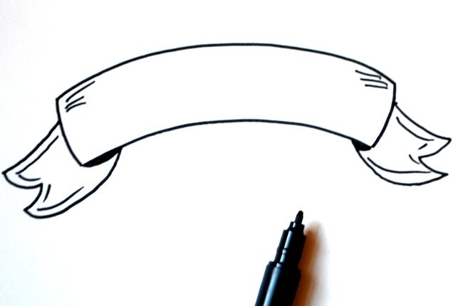 650x430 Basic Hand Lettering Drawing A Banner
