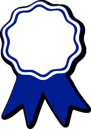 310x440 Free Awards Clipart Branding Ribbon Clipart, Blue Ribbon Award