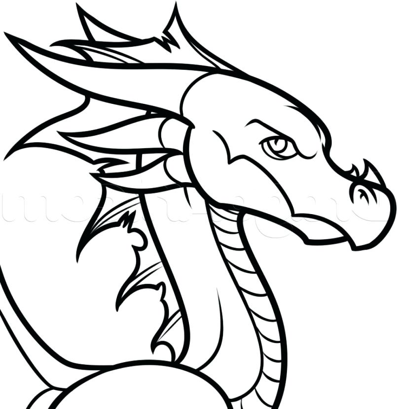 805x831 Easy Dragon Drawing Best Ideas About Drawings