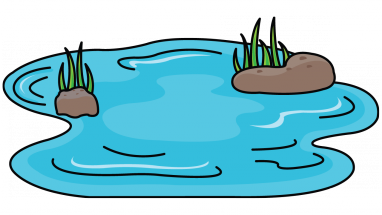 382x215 How To Draw A Pond Background For Your Drawing Step Art