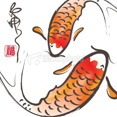 380x380 Simple Koi Fish Tattoos I'll Never Get In Koi Fish
