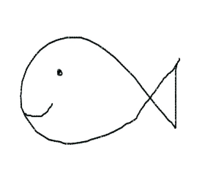 700x642 easy drawing of a fish fish easy drawing particular easy drawing
