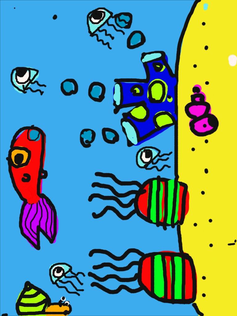 768x1024 easy drawing of fish tank fish tank drawing at getdrawings free