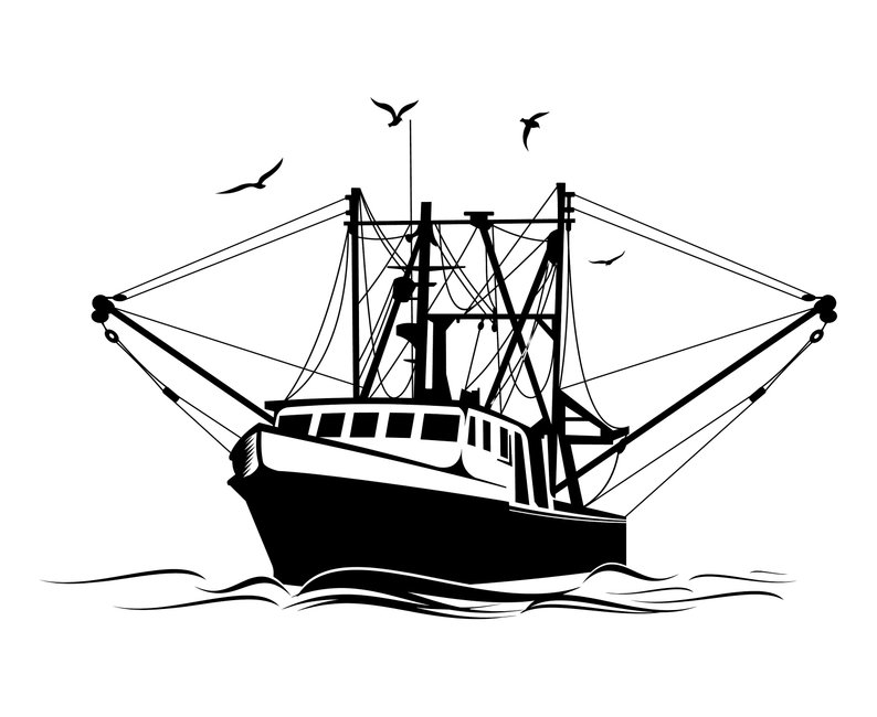794x650 fishing boat fishing boat etsy