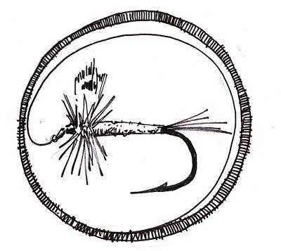 400x357 fly fishing rod drawing fly fishing merit badge i am a merit