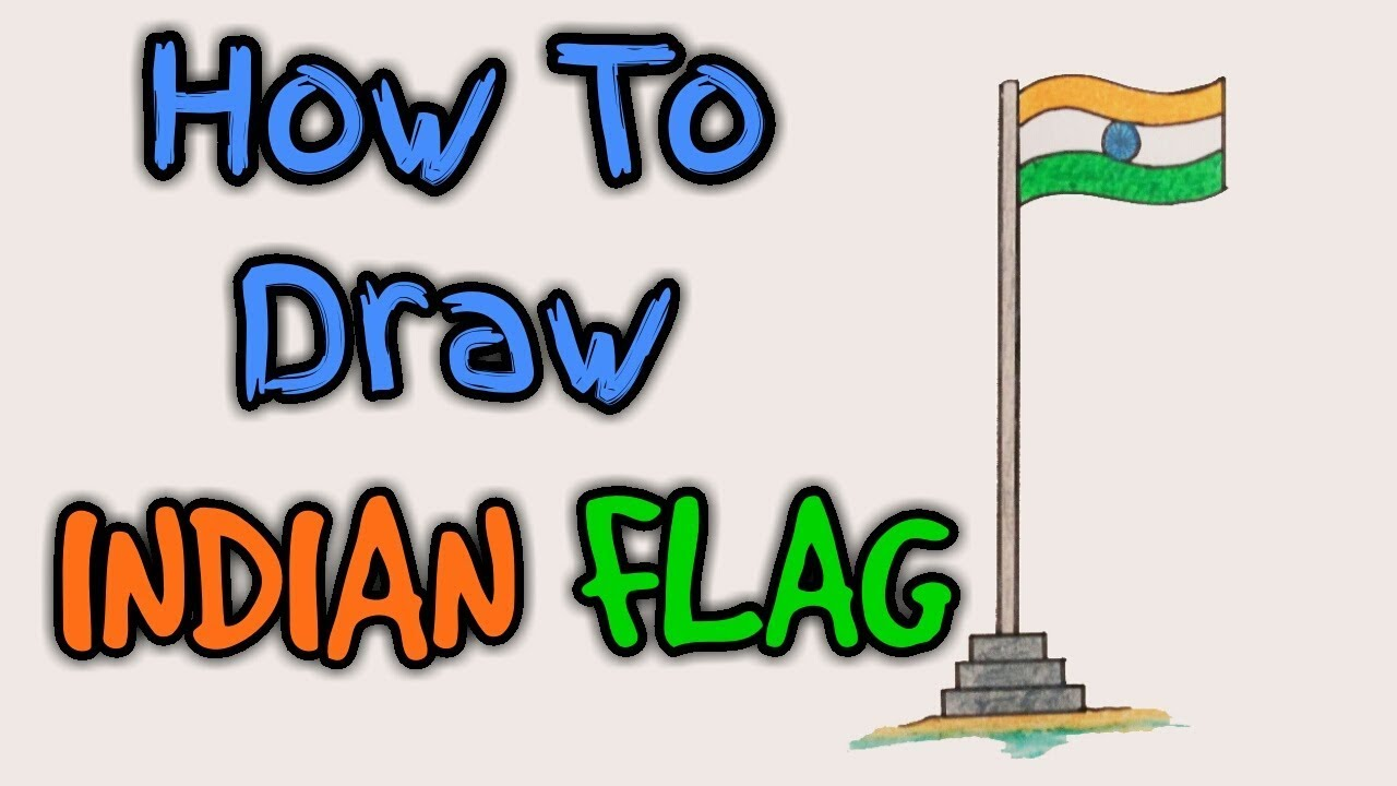 1280x720 how to draw indian flag indian flag india flag flag