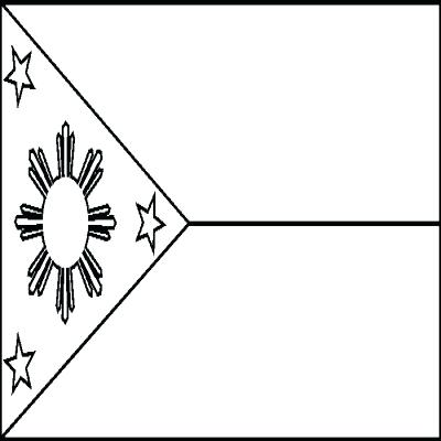 400x400 Flagpole Clipart Black And White