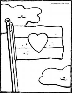 233x300 Flag On A Flagpole