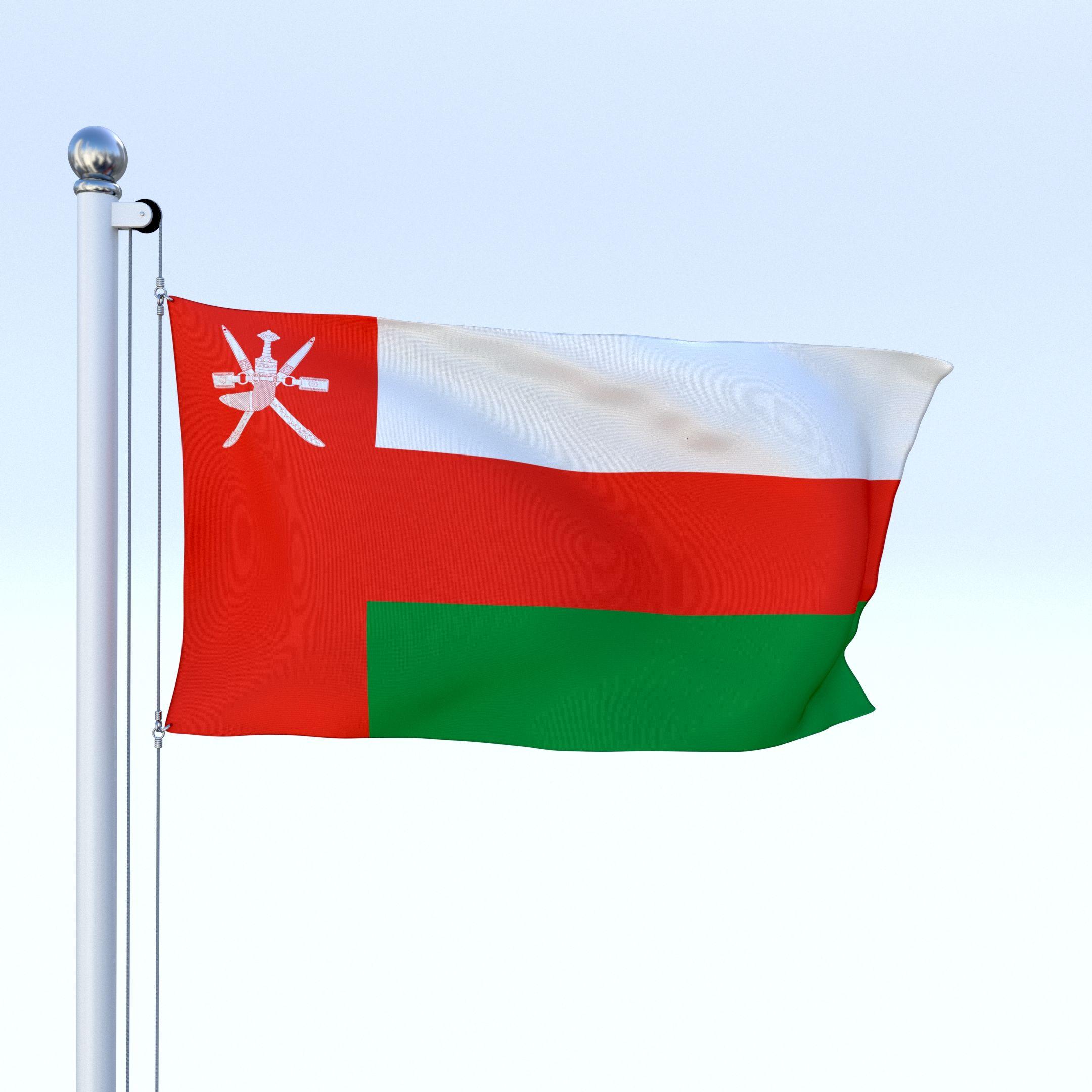 2160x2160 Animated Oman Flag