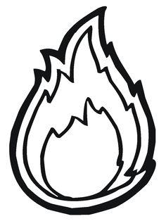 Flames Drawing Pencil