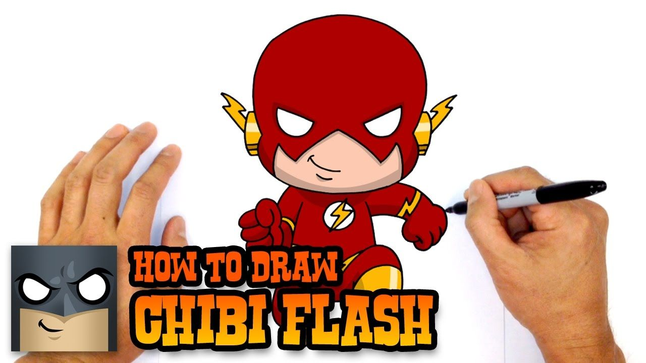 1280x720 How To Draw Flash Justice League Art Lessons