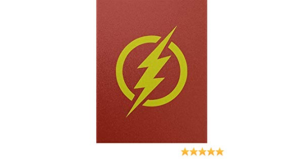 600x315 The Flash Logo Reverse Flash Outline Silhouette Symbol
