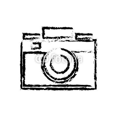 400x400 Photo Camera Flash Lens Image Sketch Vector Illustration Buy