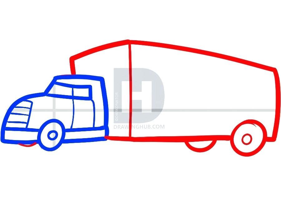 901x654 box truck drawing box truck diagram wiring diagram online box