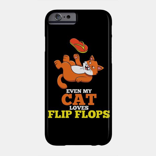 630x630 Flip Flops Cat Lover Fan Drawing Playing