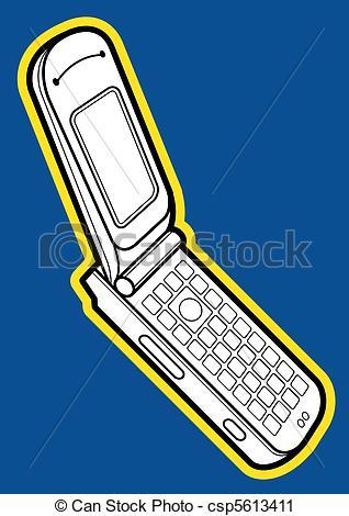 318x470 Flip Mobile Phone