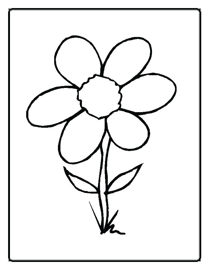 671x869 Flower Print Outs Flower Drawings To Print Your Own Flower