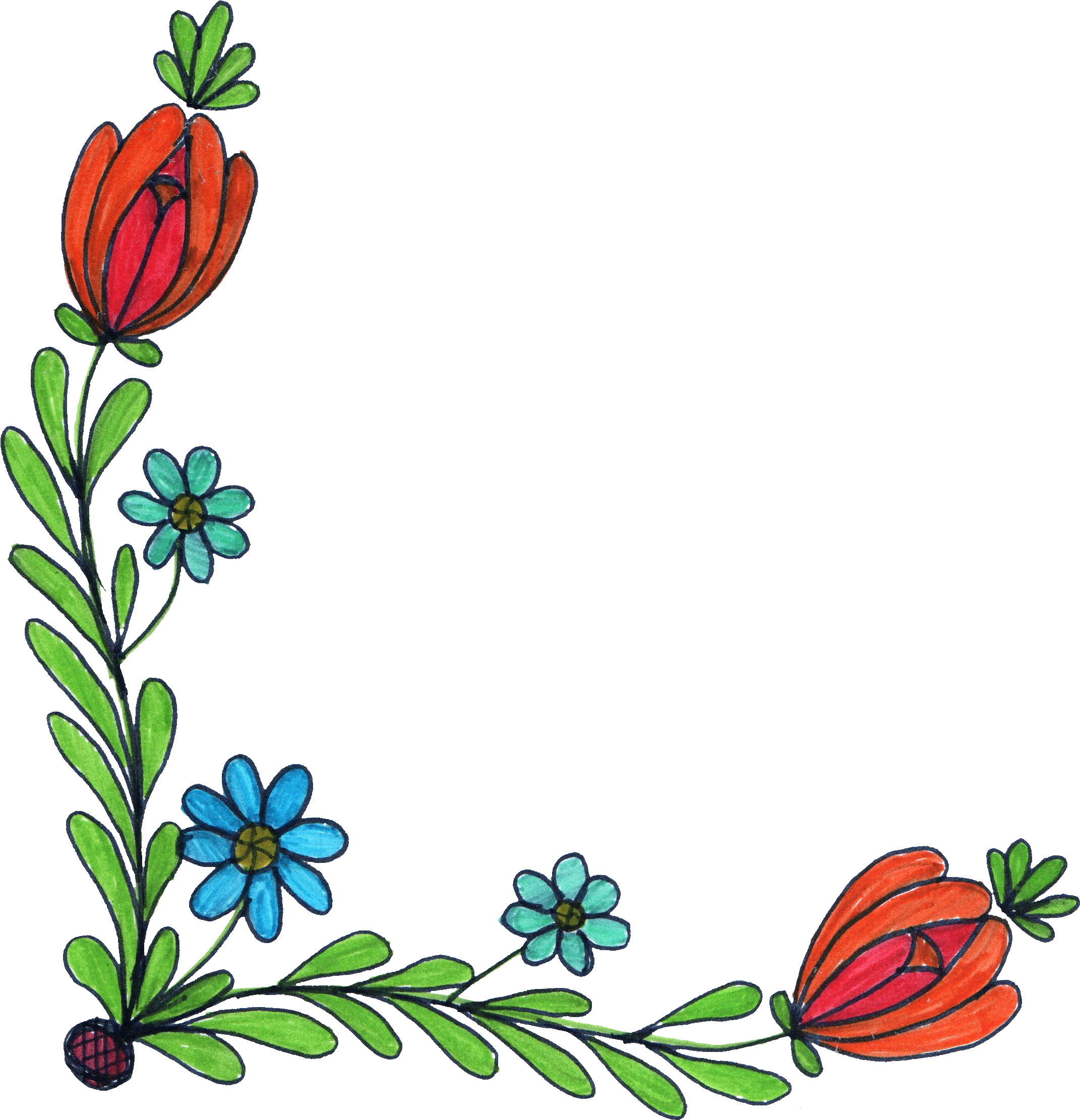 2142x2222 Collection Of Free Drawing Design Floral Print Download On Ui Ex