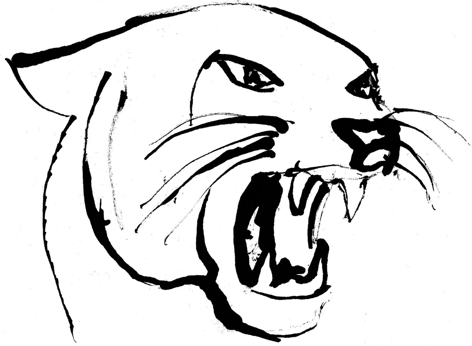 1600x1175 Panther Drawing Bad For Free Download