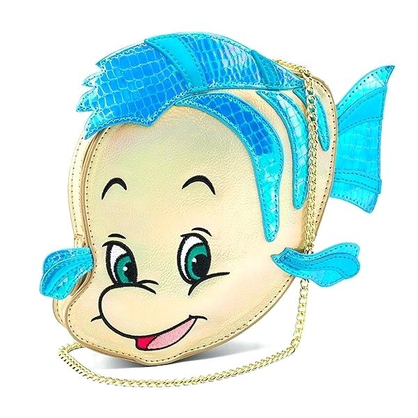 600x600 flounder ariel little mermaid flounder purse flounder ariel real