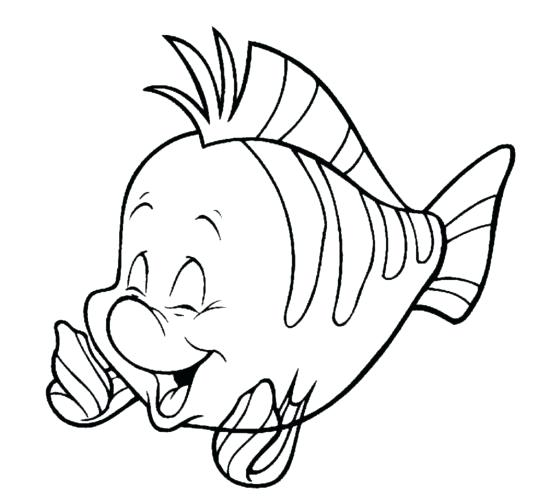 550x502 flounder coloring pages cookie consent ariel and flounder