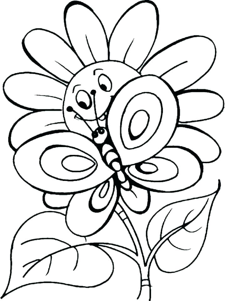 718x960 Coloring Book Of Flowers Tiger Lily Flower Pictures Small Clip Art