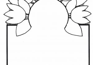 300x210 Flower Border Drawing In Pencil Simple Flower Borders Sketch