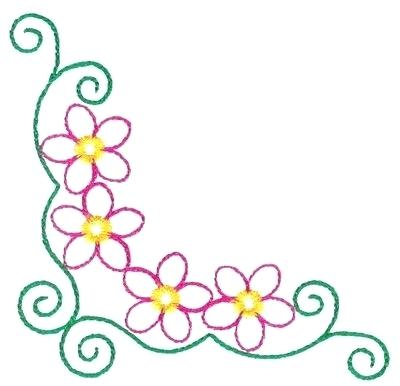 400x386 flower design border flower border design flower border design