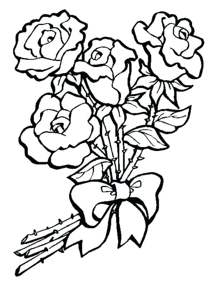 750x1000 Flower Border Coloring Pages