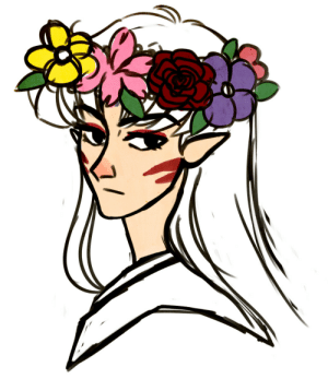 Flower Crown Drawing Tumblr