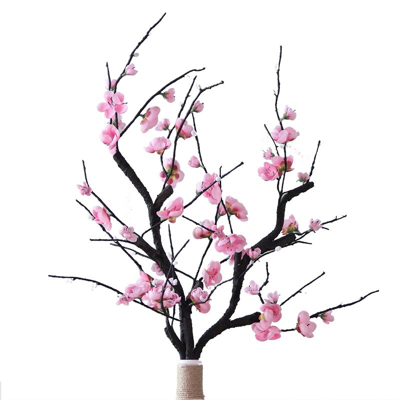 800x800 usd single branch long branch simulation plum peach flower
